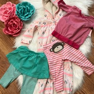 Other - 🎀BOGO🎀 Lot of 4 items girls' 9 months